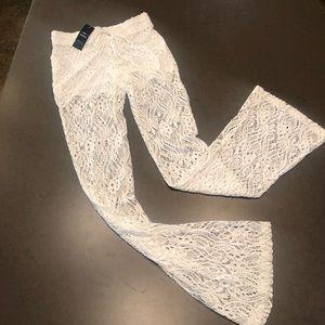 Bebe Drawstring Lace pants